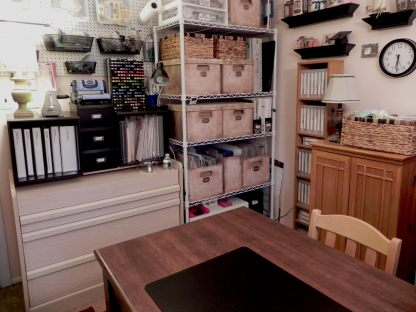 01 Craft Room Stamp Storage