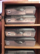 32 Craft Room Stamp Storage