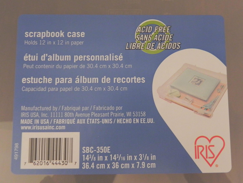 Scrapbook paper case - Scrapbook Case Adscn9639