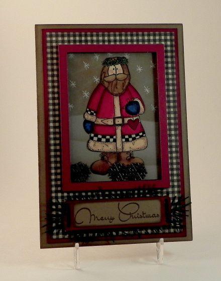 Christmas Shaker Card yyDSCN7054