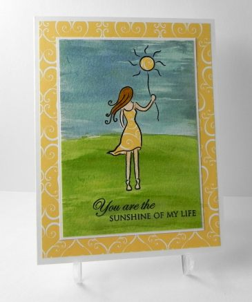 Golden Sunshine - Childhood Cancer Awareness Card.jpg