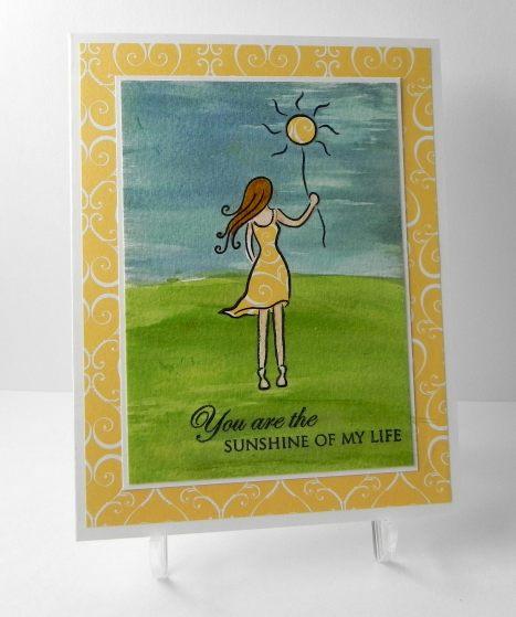 Golden Sunshine - Childhood Cancer Awareness Card.jpg