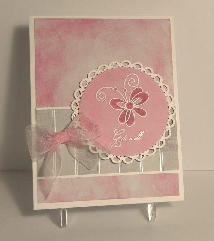 Pink Get Well - Sketch