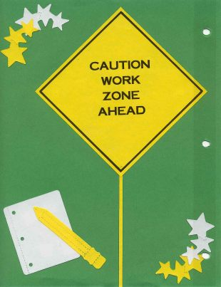 a020 Caution Work Zone Ahead Intro