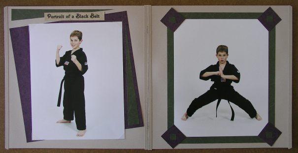 a130 Scrapbook page_ portrait pg 1