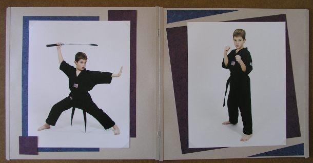 a140 Scrapbook page_ portrait pg 2