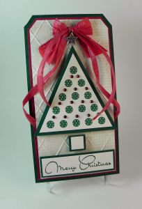 Lots of Dots Christmas Tree Tag aDSCN5700