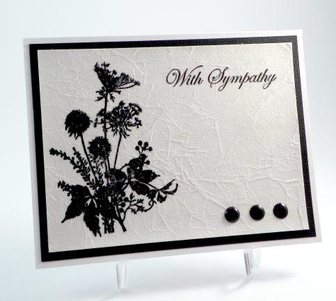 Tissue Paper Sympathy Card DSCN9546