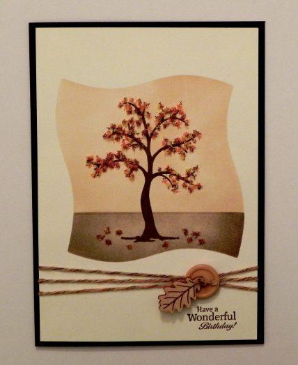Autumn Tree Birthday Card wDSCN8814.jpg
