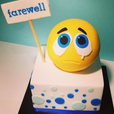 farewell cake image