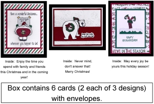 Humorous Card Insert