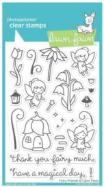 Lawn Fawn Fairies Stamp Set