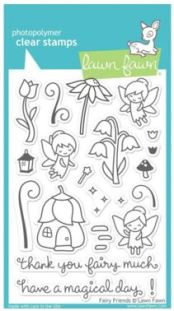 Lawn Fawn Fairies Stamp Set