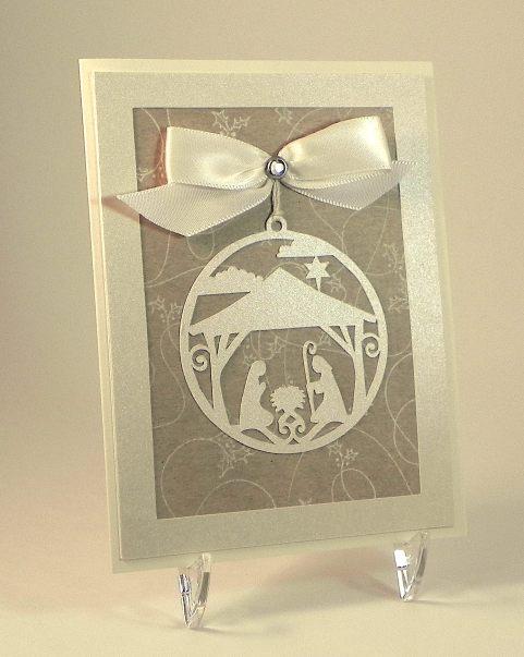 Nativity Ornament Card yDSCN7068 lighter
