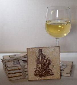 Wine and Cheese Tile Coasters zDSC_1216
