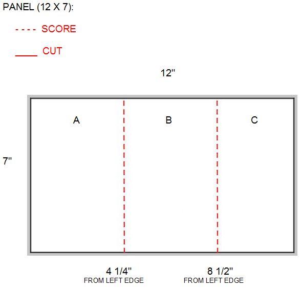 12 x 7 panel NO SLIT