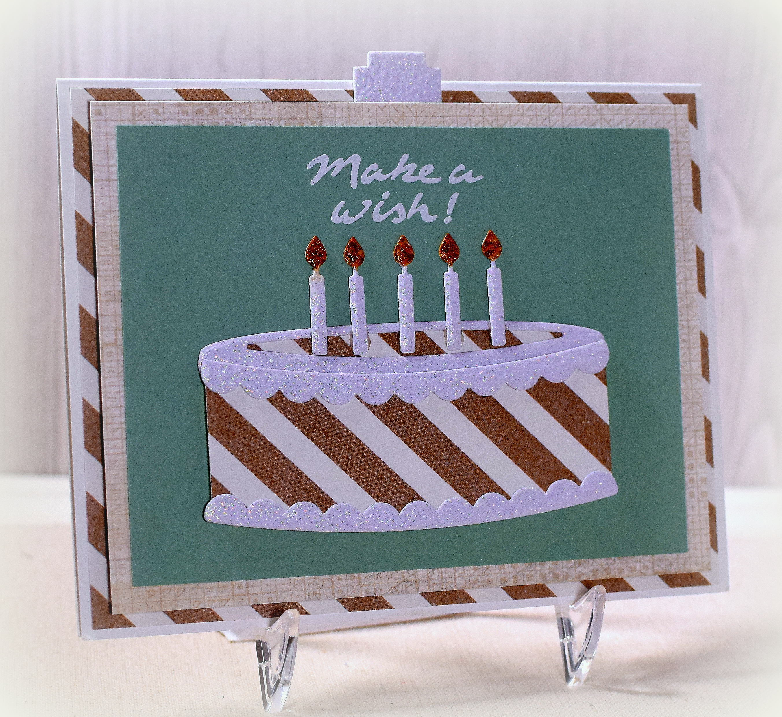 Outstanding Interactive Birthday Cake Card I Played With Paper Today Personalised Birthday Cards Veneteletsinfo