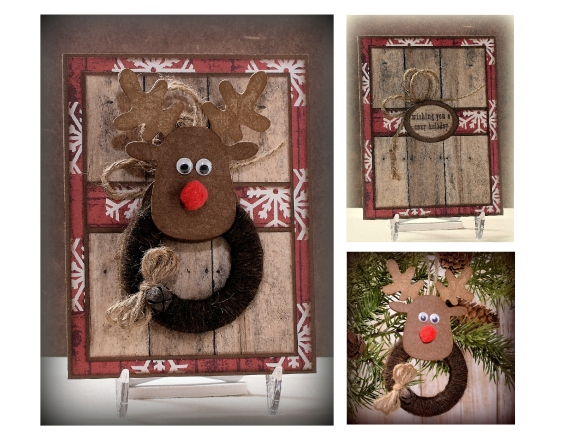 Reindeer Ornament and Card