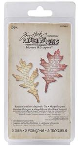 movers and shapers mini tattered leaves