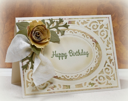 Flower and Frame Birthday Card wDSC_3134.JPG